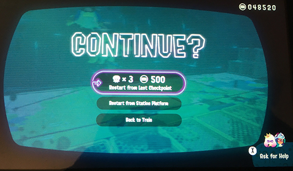Game Over: Continue - Splatoon 2: Octo Expansion