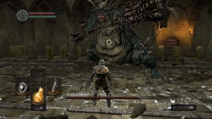 asylum demon dark souls boss