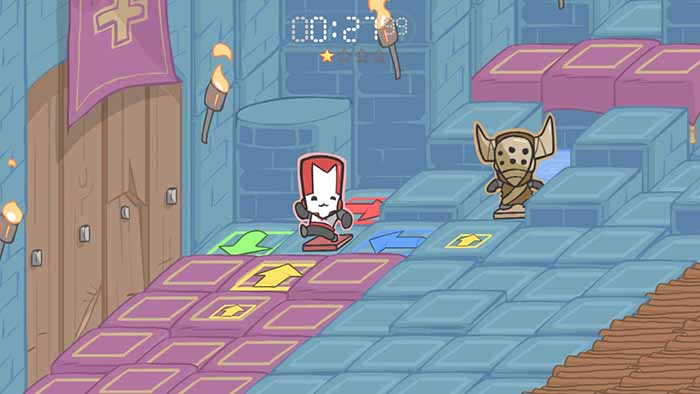 Back Off Barbarian Mini Game in Castle Crashers Remastered
