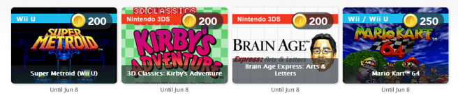 Club Nintendo: May 2014 Digital Prizes