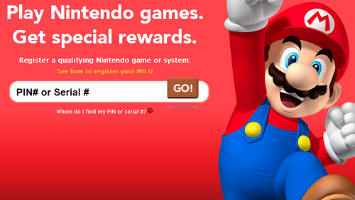 Club Nintendo Physical Prizes Service Down