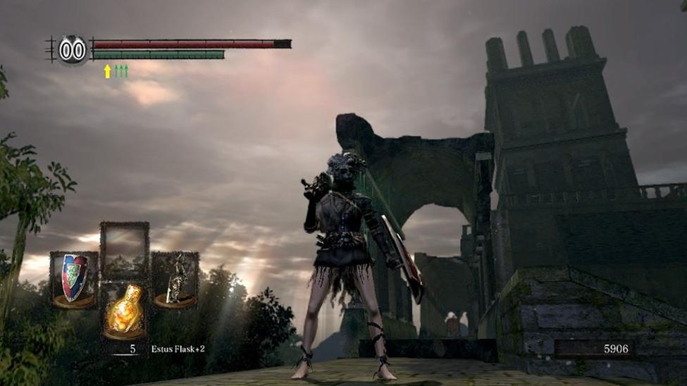 dark souls undead parish background