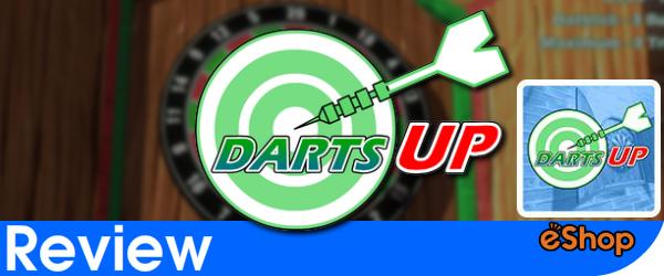 Darts Up Review (Wii U)