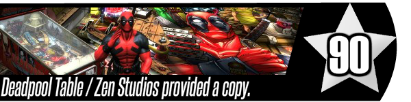 Deadpool table review - Zen Pinball 2