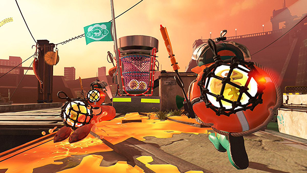 Egg basket - Salmon run