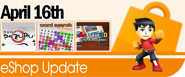 New eShop Content – April 16th