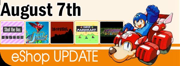 eshop update august 7th