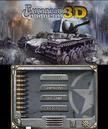 European Conqueror 3D Wii U Gameplay