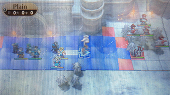 Battling in Fire Emblem Awakening