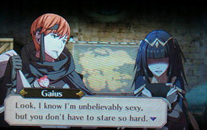 Character conversation in Fire Emblem Awakening
