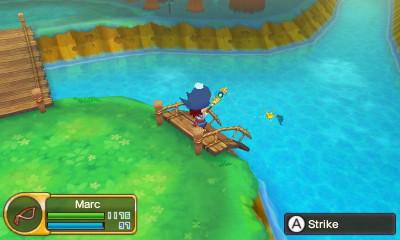 Fishing in Fantasy Life
