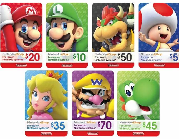 Free Nintendo Switch eShop Codes