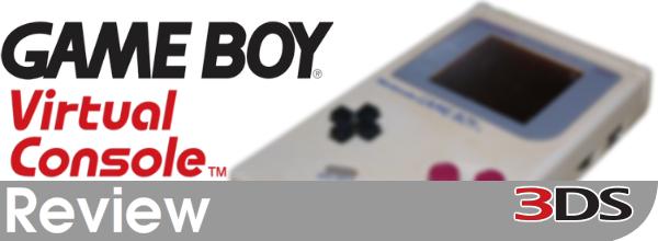Game Boy Virtual Console Review (3DS eShop)