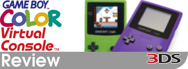 Game Boy Color Virtual Console Review (3DS eShop)