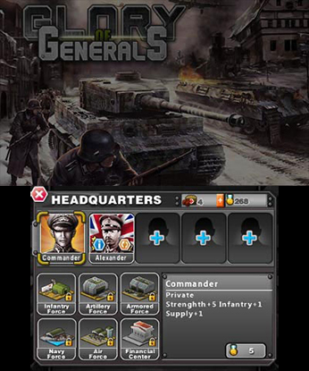 Glory of Generals Gameplay (3DS eShop)