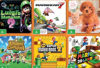 Nintendo Australia Great Games Promotion
