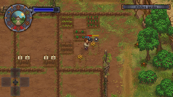 Growing crops in Graveyard Keeper