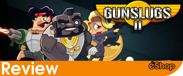 Gunslugs 2 3DS Review