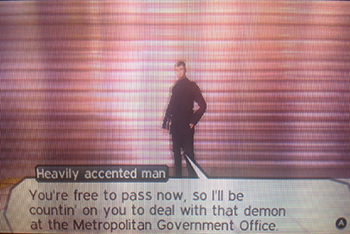 Heavily Accented Man from Shinjuku - Shin Megami Tensei IV