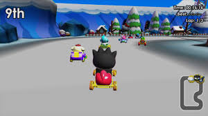 Hello Kitty Kruisers, not Hello Kitty & Sanrio Friends 3D Racing
