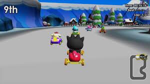Hello Kitty Kruisers, not Hello Kitty & Sanrio Friends 3D Racing