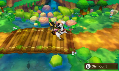 Horse Riding in Fantasy Life