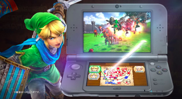 Hyrule Warriors gameplay on 3DS!