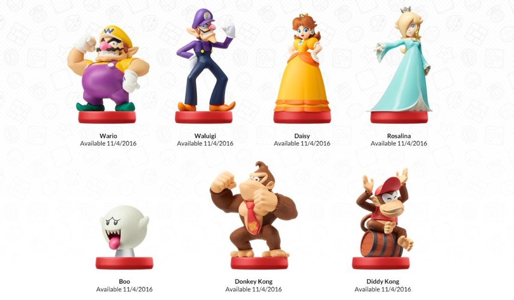 Super Mario amiibo line-up 2