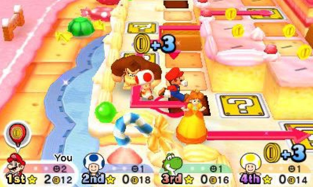 Mario Party Star Rush screenshot