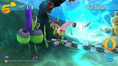 Jett Tailfin Gameplay (Wii U)