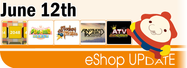 New Stuff on Nintendo eShop (June 19th)