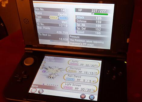 Perfect 5-6 IV Kalos born Zapdos in Pokemon X/Y