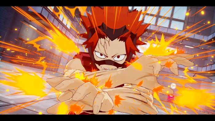 Kirishima Story Mode in My Hero: One's Justice