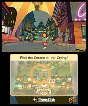 Professor Layton and the Miracle Mask Gameplay