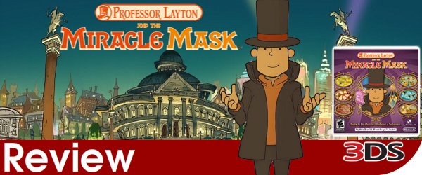 Professor Layton and the Miracle Mask Review (3DS)