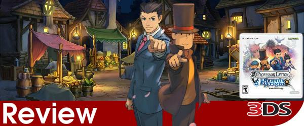 Professor Layton vs Phoenix Wright Review (3DS)