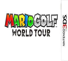 Mario Golf World Tour Game Box Cover Art