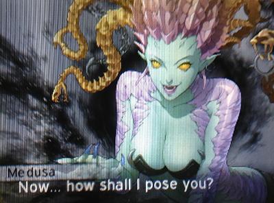 Medusa in Shin Megami Tensei IV: Apocalypse