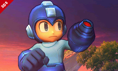 Mega Man Super Smash Bros for 3DS Art