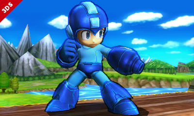 Mega Man Super Smash Bros for 3DS Art