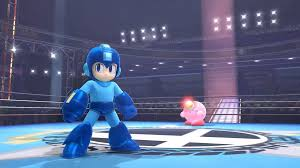 Mega Man and Kirby in Super Smash Bros 4
