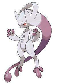 New Mewtwo Form In Pokemon X and Y
