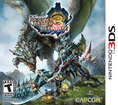 Monster Hunter Ultimate 3 Box Cover Art