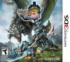 Monster Hunter Ultimate 3 Box Cover Art