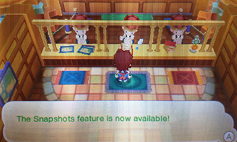 Screenshot clerk in Fantasy Life