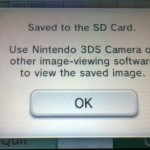 Once saved, you can see the picture with the camera. Still it won't have a 3D effect.
