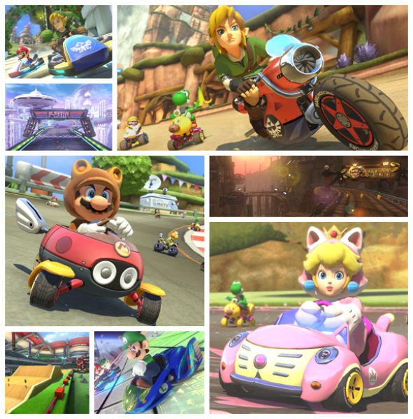 Mario Kart 8 The Legend of Zelda DLC