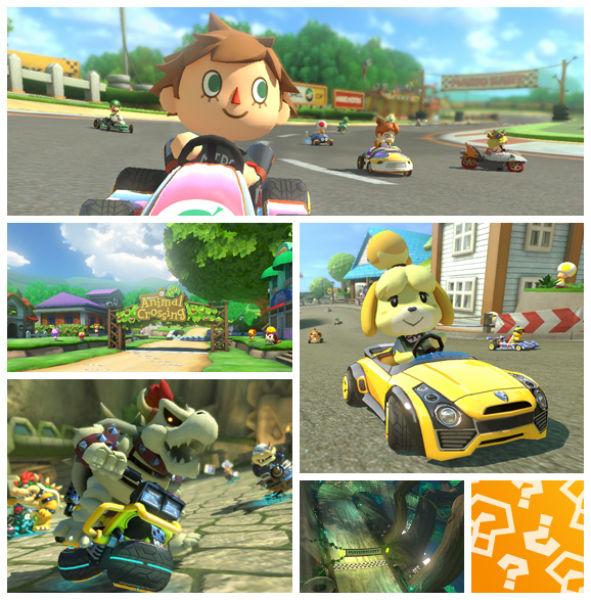 Mario Kart 8 Animal Crossing DLC