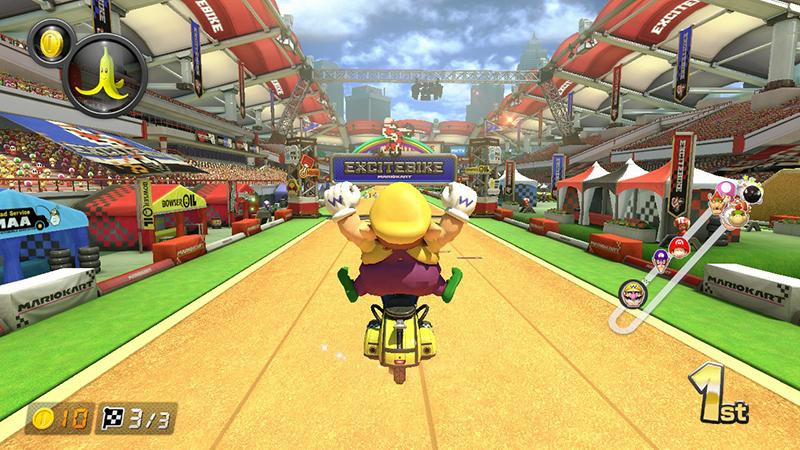 Mario Kart 8 Deluxe Race