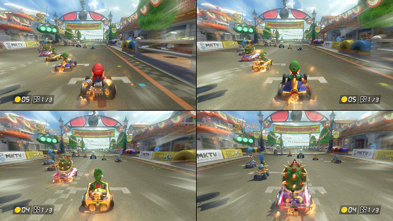 Mario Kart 8 Deluxe Local Multiplayer
